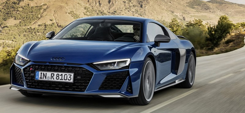 57,9 millió forinton nyit itthon az új Audi R8