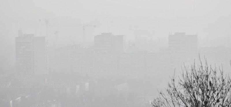 Marad a rossz levegő Budapesten