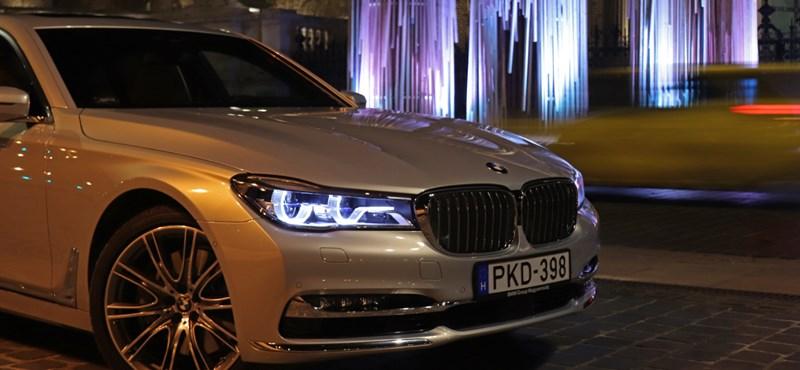 Dízelbotrány helyett egy botrányosan jó dízel – teszten a négyturbós BMW 750Ld