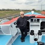 Amerikai támogatásból épült Fa Nándor új hajója