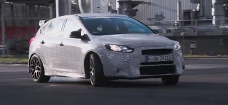 Ken Block máris randalírozott egyet az új Ford Focus RS-sel – videó