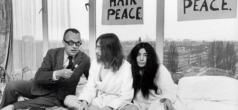 Meggazdagodott Lennon tincséből egy német fodrász
