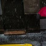 Hatalmas eső várható az ország középső részén, kiadták a figyelmeztetést