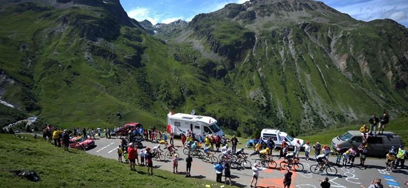 Tour de France: Szinte már biztosra vehető a történelmi győzelem