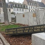 Zsidó emlékhelyet romboltak le Strasbourgban