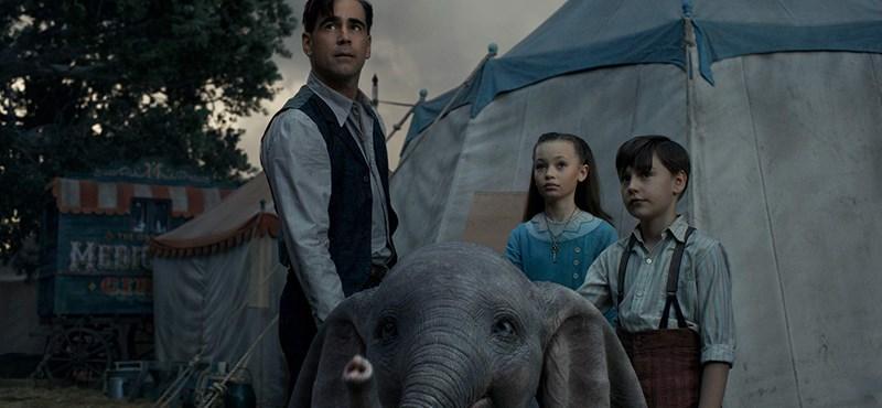 A Dumbó a várakozásoktól messze elmaradva nyerte a mozis hétvégét