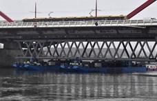 Az utolsó elem is a helyére került a déli összekötő vasúti Duna-hídon