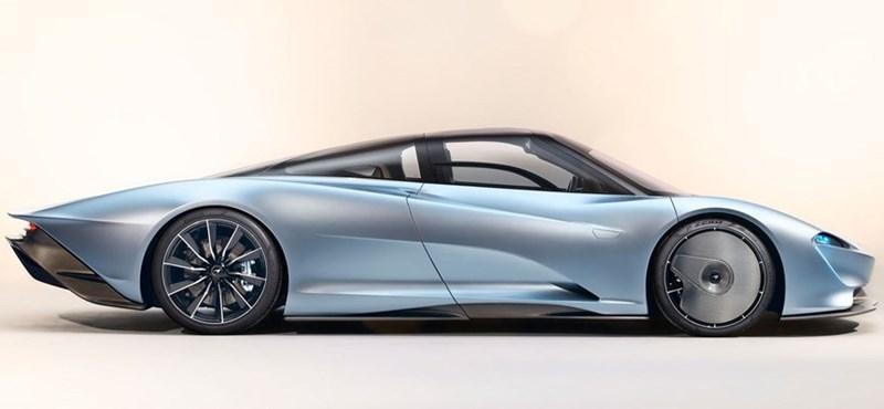 Eladó egy eddig megvehetetlennek hitt McLaren hiperautó