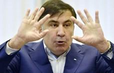 A volt grúz elnök unatkozik, és sokallja a 400 eurós amszterdami rezsit