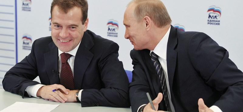 A Szovjetunió alapjain képzeli el az Eurázsiai Uniót Medvegyev és Putyin