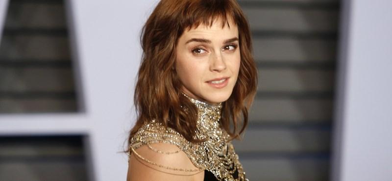 Emma Watson szingli, és élvezi