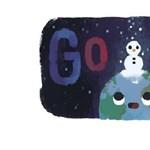 Mi ez a furcsa kép a Google főoldalán? És mi köze az éjszakához?