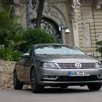 Vezettük a Volkswagen CC-t