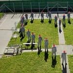 A sopronkőhidai rabok nem akárhogy köszönik meg az egészségügyi dolgozók munkáját