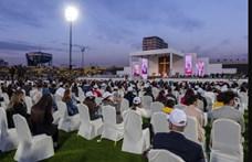 Kurdisztán székhelyén, Erbílben celebrált szentmisét Ferenc pápa