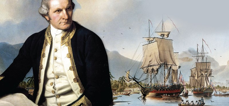 Megtalálhatták a Cook kapitány elveszett hajóját