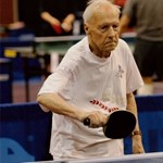 Százévesen pingpongozik Alekszandr Kaptarenko