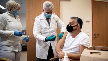Orbán influenzaoltással indította a napot