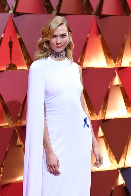 afp.17.02.27. - Hollywood, USA: 89. Oscar-díj - érkezés - Karlie Kloss - Oscar-díj 2017