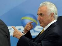 Őrizetbe vették Michel Temer volt brazil elnököt korrupció gyanújával