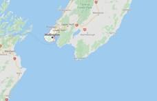 Közepes erősségű földrengés volt nem messze Új-Zéland fővárosától