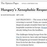 Volt USA-követ: Orbán ezért nem engedhette át a migránsokat