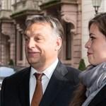 Orbánt a lánya is elkísérte Németországba, puszit is kapott – fotók