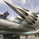 120 iszlámista katonát bombázott le az orosz légierő