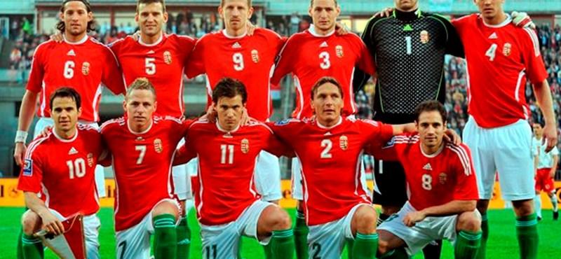 Magyarország négy helyett esett vissza a FIFA-világranglistán