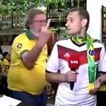 Ukrán újságírót zaklatott egy brazil szurkoló