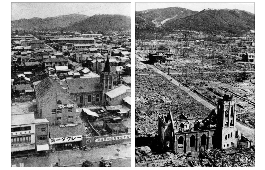 afp.1945. - Hirosima városa előtte-utána - atombomba 70, Nagaszaki, Nagasaki, Hirosima, Hiroshima