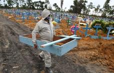 Rekordszámú új fertőzött Brazíliában