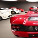 Garantált libabőr: 10 percben a világ legdurvább Ferrari-gyűjteménye