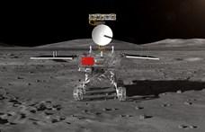 Már 424 métert haladt előre a Hold távoli oldalán a Jáde Nyúl-2