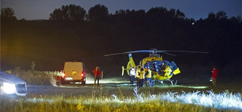 Felsővezetéket szakított le egy mentőhelikopter Őrbottyánban