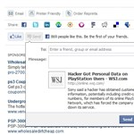 Send gomb: célzott megosztás a facebookon