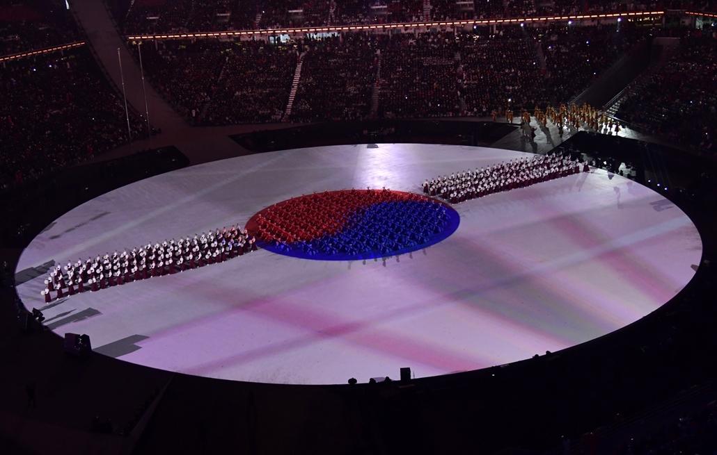 afp.18.02.09. - Téli Olimpia 2018 - megnyitó ünnepség