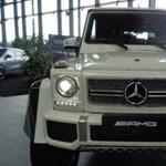 292 millió forintot kérnek ezért a szuperritka G-osztályos Mercedes-Maybachért