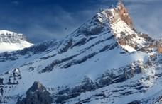 Az Alpok egy 3000 méteres csúcsán vetett véget a partiszünetnek egy DJ
