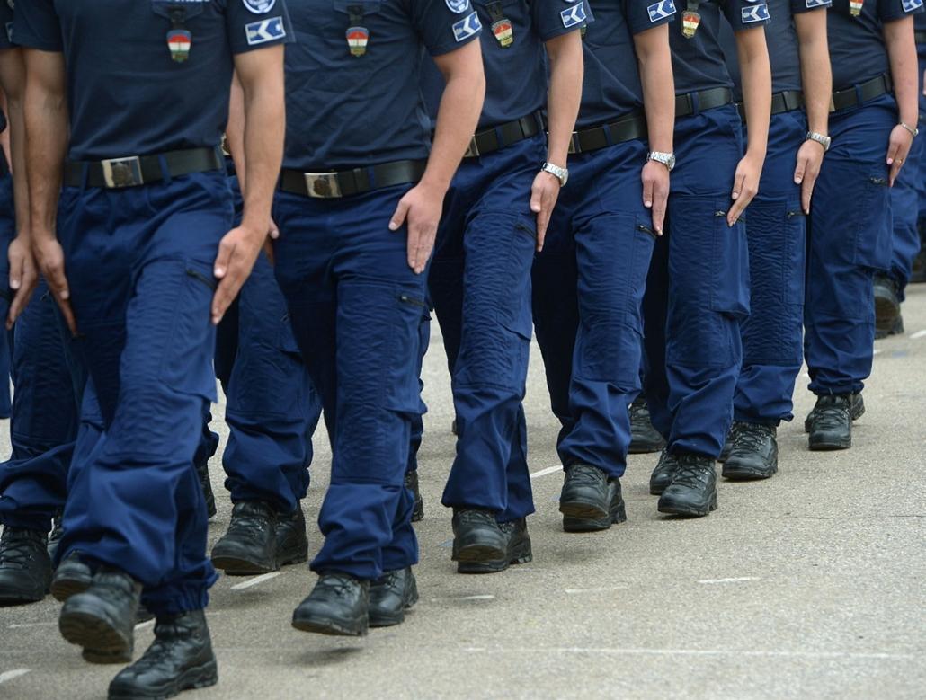 20130918002 - rendőrség, Miskolca,  Rendőr kibocsátó és eskütételi ünnepség Miskolcon 2013