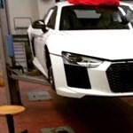 Kiszivárogtatott képen a második generációs Audi R8