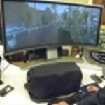 Íves képernyő, 2880x900-as felbontással (videó)