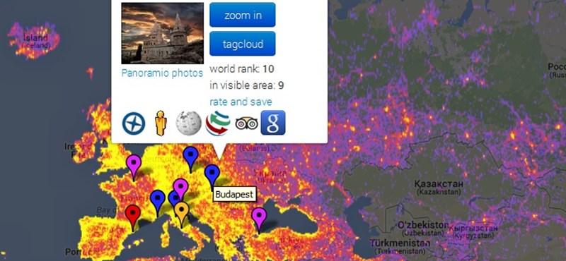 Budapest felkerült a Google Maps fotós toplistájára – térkép