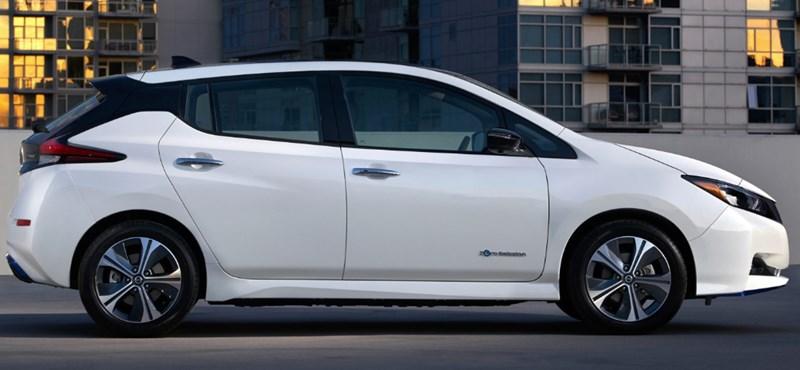 Itthon is beárazták a nagyobb hatótávú, jobban gyorsuló, szélsebesen tölthető új Nissan Leafet