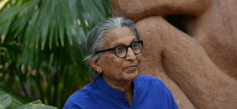 """India legendás építésze kapta idén a szakma """"Nobel-díját"""""""