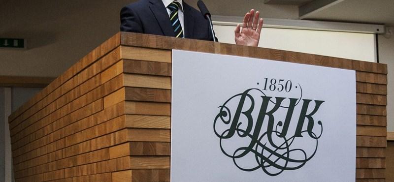 Parragh emberét választották meg a BKIK elnökének