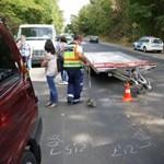 Tovább gurult a leszakadt utánfutó a baleset után - fotók