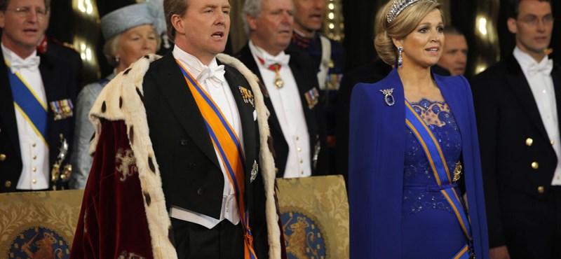 Fotó: esküt tett az új holland király