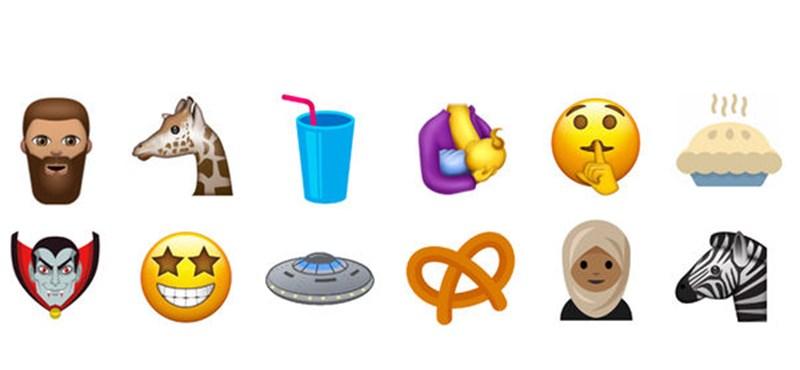 Különleges emojikkal bővül jövőre a  már most több mint másfél ezres készlet