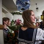 Galéria: így búcsúztak a diákok a középiskolától